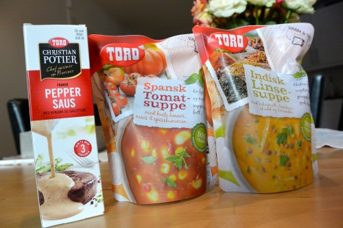 Supper og sauser som gjør livet bittelitt enklere, spesielt ved lunsjtider :)